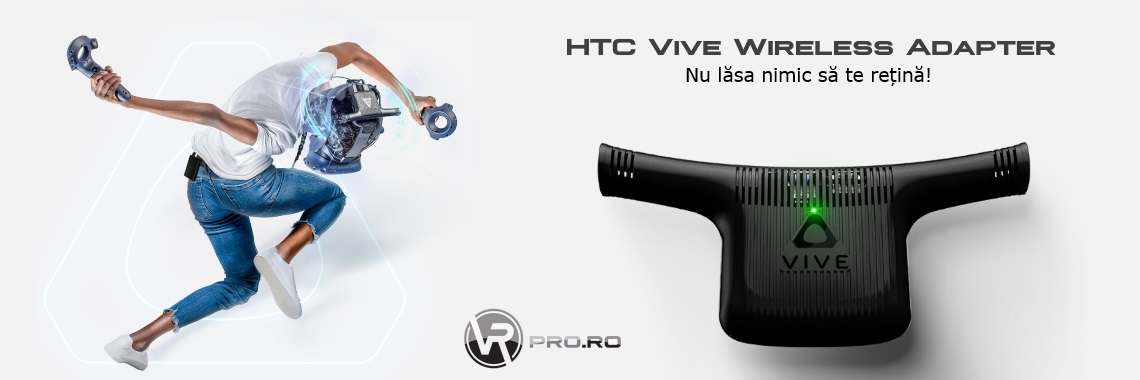HTC Vive/Vive Pro* Adaptor wireless